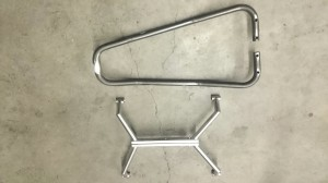 handlebar and frame
